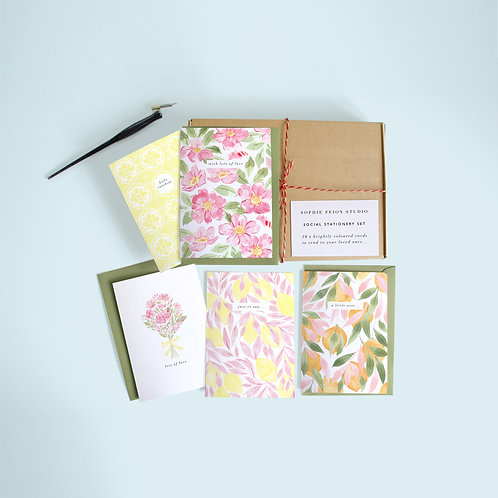 Social Stationery Set