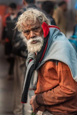 Street peddler, Chandni Chowk, Delhi