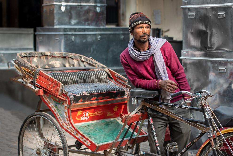 Rickshaw-wala, Jalandhar