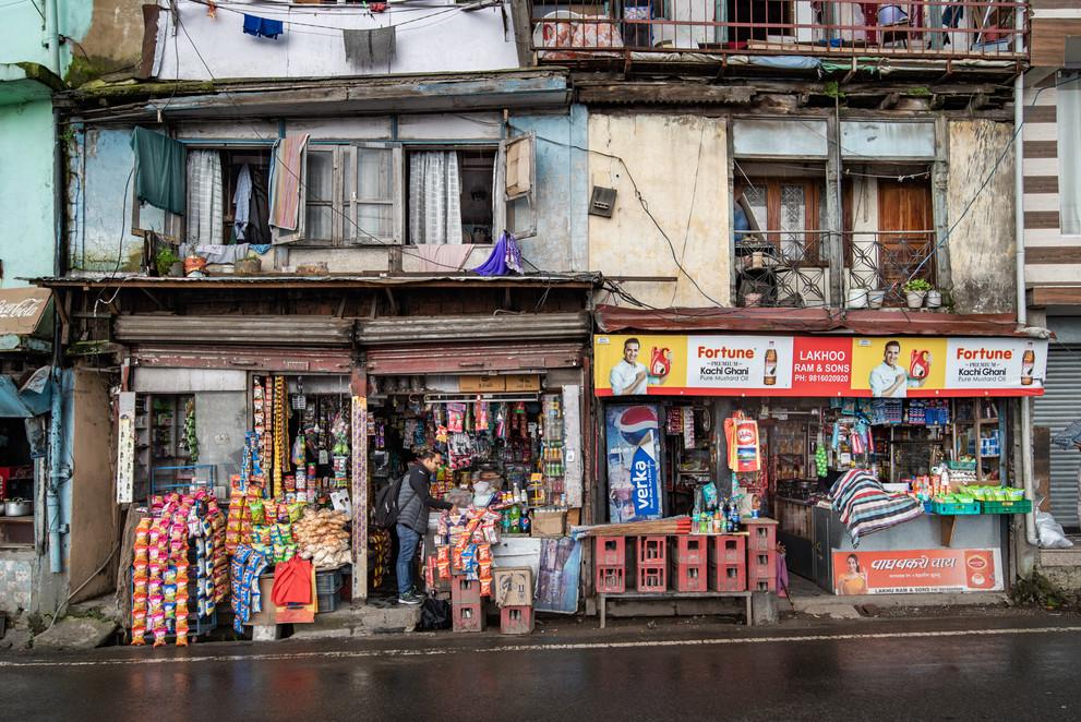 Kirana shops, Cart Road, Shimla