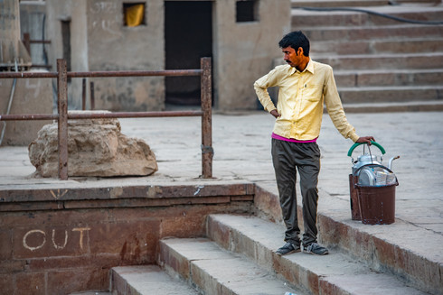 Chai-wala, Varanasi