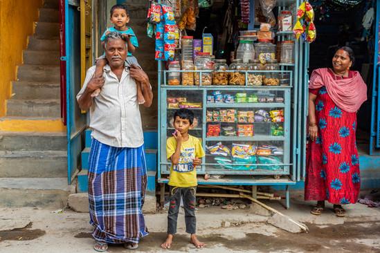 Kirana shop, Bangalore