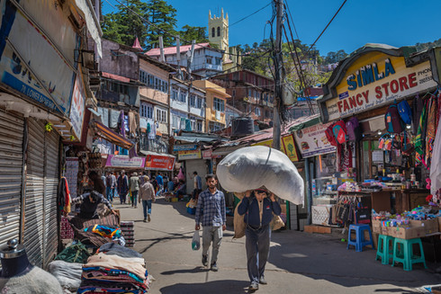 Lower bazaar, Shimla