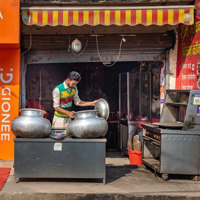 Dhabha worker, Khadar, New Delhi