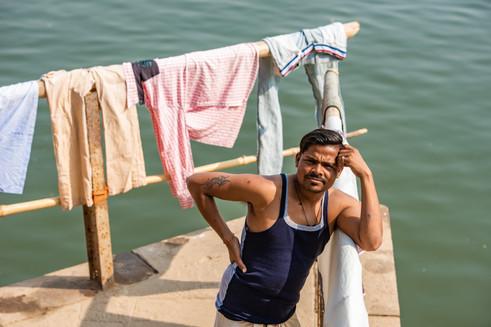 Dhobhi (washerman), Varanasi
