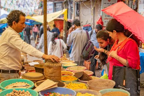 Spice vendor, Shimla