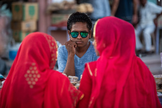 Market seller, Jodhpur