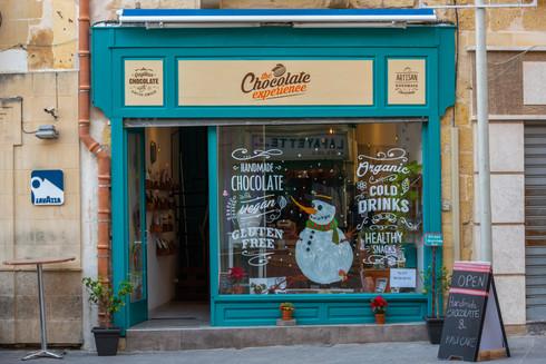 Chocolatier, Valetta, Malta