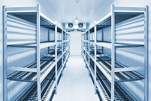 Refrigeration chamber for food storage..