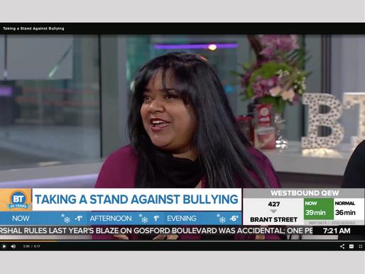 Keka on Breakfast TV - Taking a Stand Against Bullying
