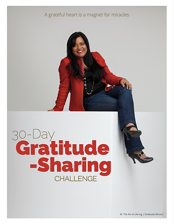 Keka DasGupta - 30-Day Gratitude-Sharing