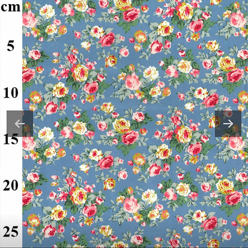 Copen Roses - Fabric Option for Clothing