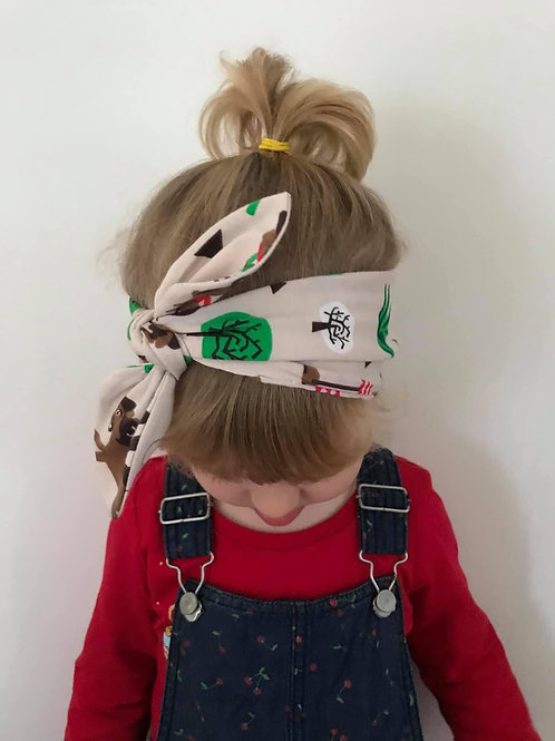 Children's Headband with bow detail