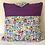 Travel Cushion - Purple Cats