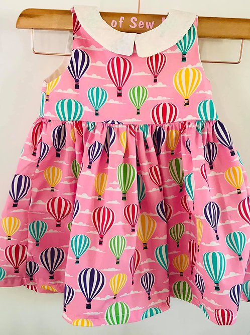 The Florence Dress - Pink Balloons
