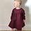 Thumbnail: Wine Corduroy - Fabric Option for Clothing