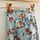 Thumbnail: Harem Trousers - Sky Blue Foxes