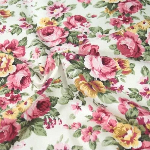 Vintage Roses 100% Cotton