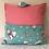 Travel Cushion - Pink Nursery