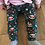 Harem Trousers - Jade Hiding Tigers - Front View