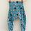 Thumbnail: Harem Trousers - Blue Comic
