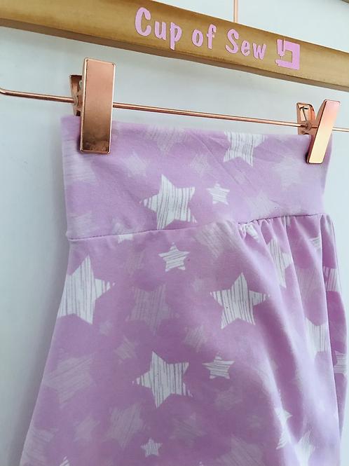 Harem Trousers - Pink Striped Stars