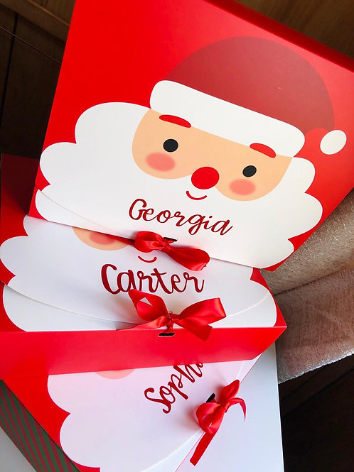 Personalised Christmas Eve/Gift Boxes
