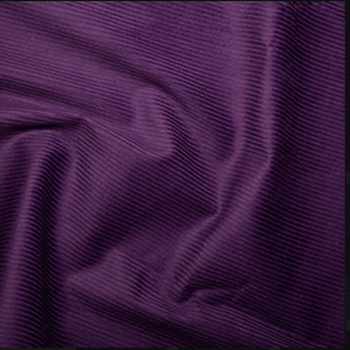 Purple Corduroy - Fabric Option for Clothing