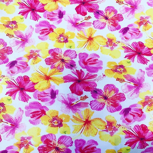 Bright Pansies - Fabric Option for Clothing