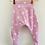 Thumbnail: Harem Trousers - Pink Striped Stars