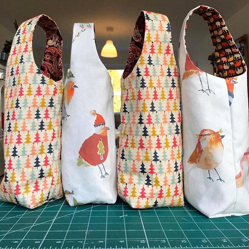 Handmade Bottle Gift Bags