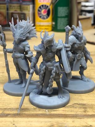 Kuxcoatl, Aureus and Baastherox head byNickwiersum