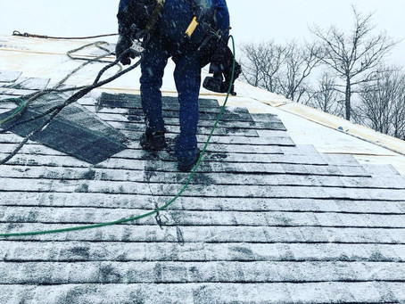Can I replace my roof in Winter?
