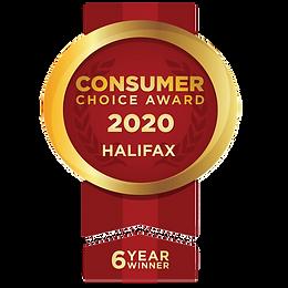 Consumer Choice Award 2020 Halifax 6 year winner