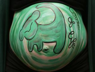 Bellypaint Buikschildering Lion King