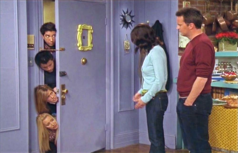 Fotograma de la serie Friends