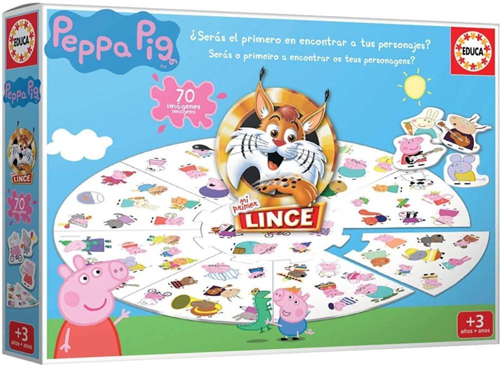 El lince de Peppa Pig