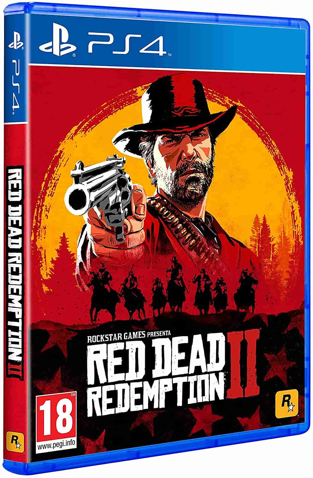 Mejor juego ps4 Red Dead Redemption 2