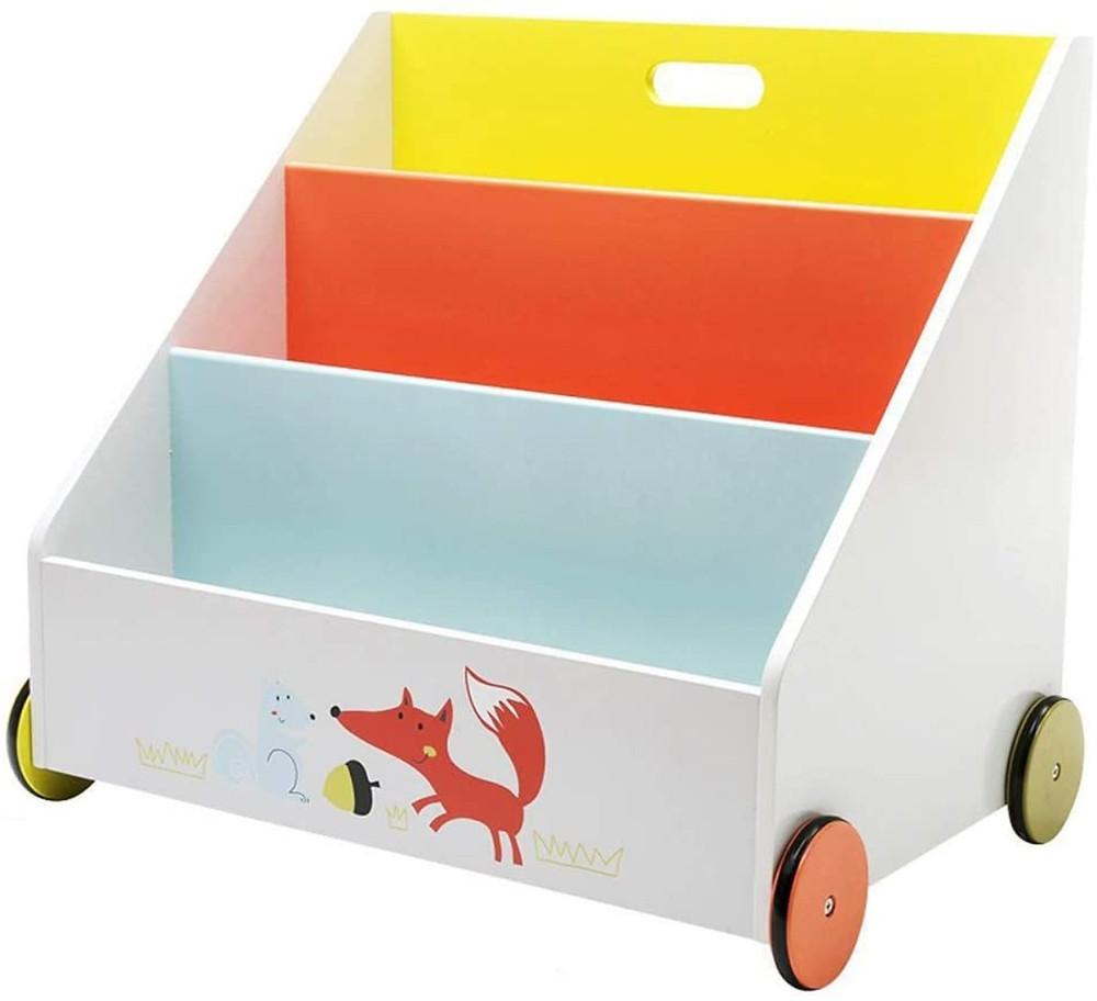 Librería para niños de tres niveles