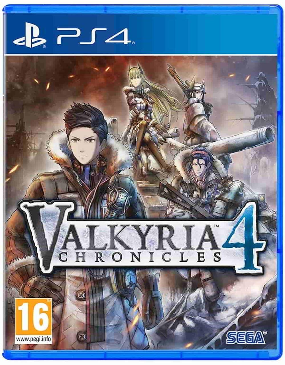 Juegos estrategia PS4 Valkyria 4: chronicles