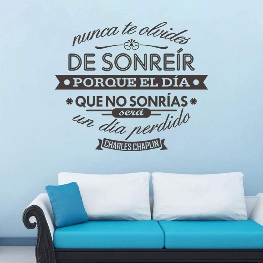 Vinilos con mensajes para decorar tus paredes