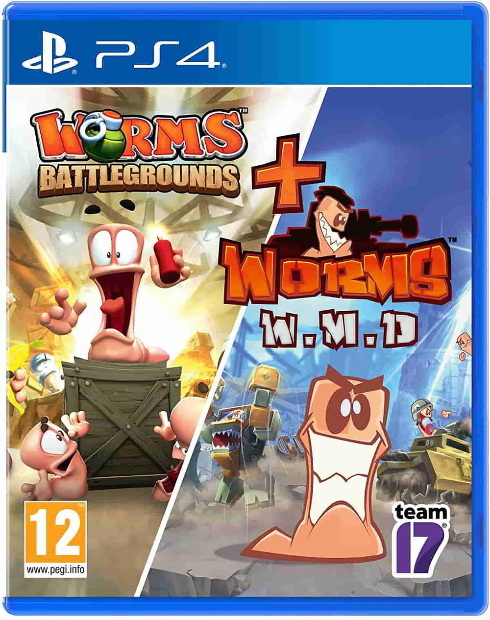 Juegos estrategia PS4 Worms