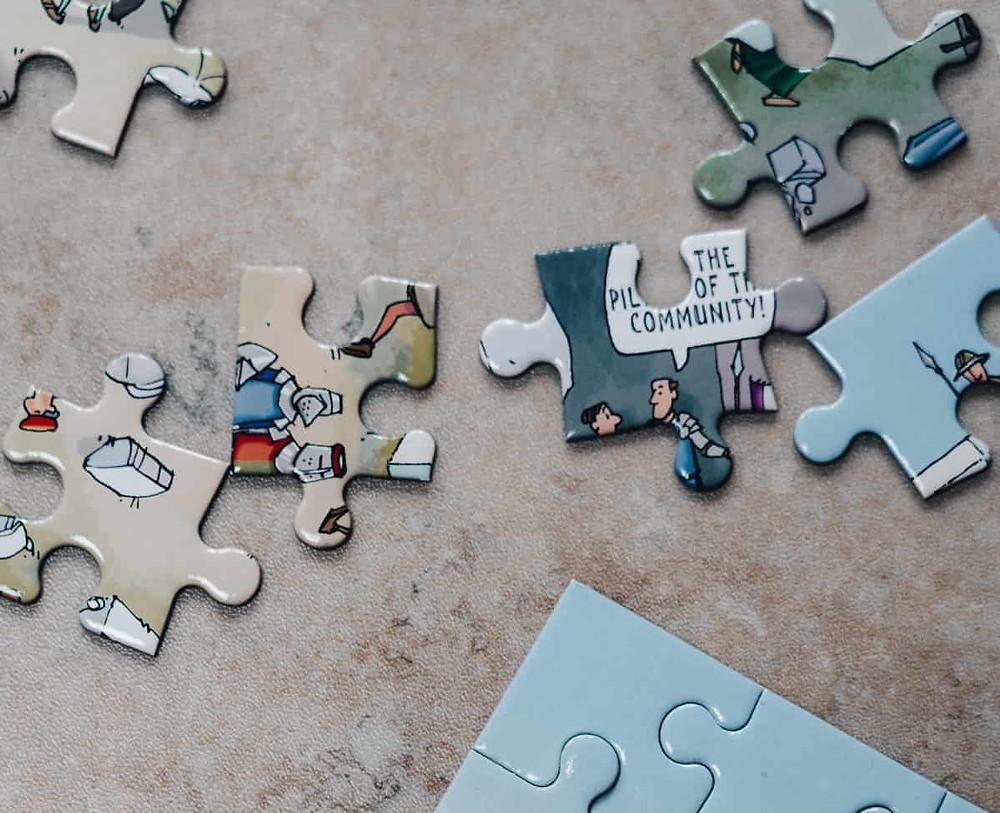 Mejorar la concentración mediante puzles o rompecabezas
