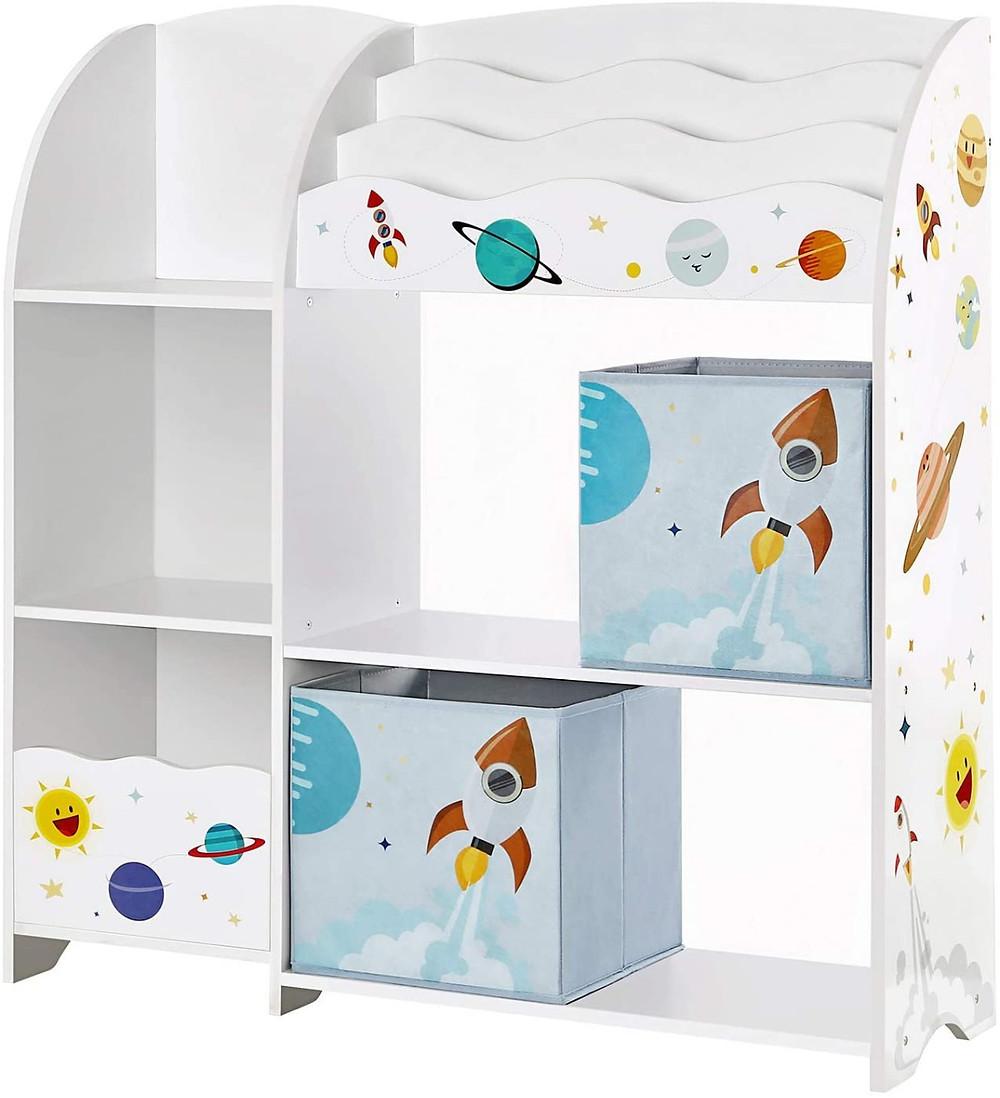 Biblioteca infantil para dormitorio