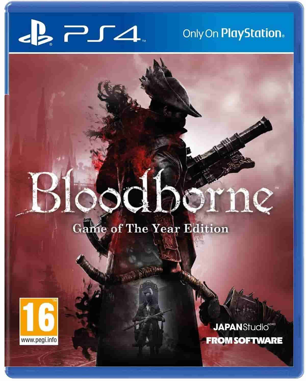 Juego imprescindible ps4: Bloodborne