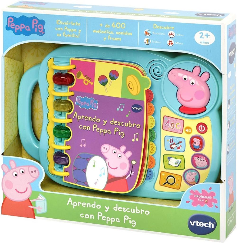 Libro interactivo Peppa Pig