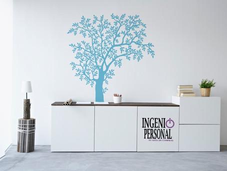 Vinilos y stickers decorativos. Ideas para decorar tu casa.