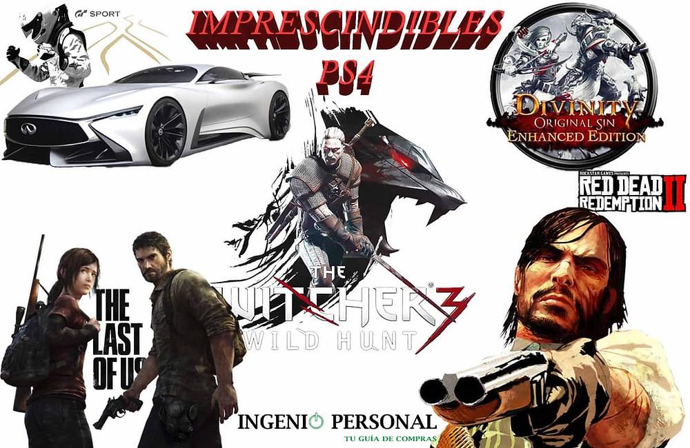 Juegos imprescindibles PS4 por menos de 30€