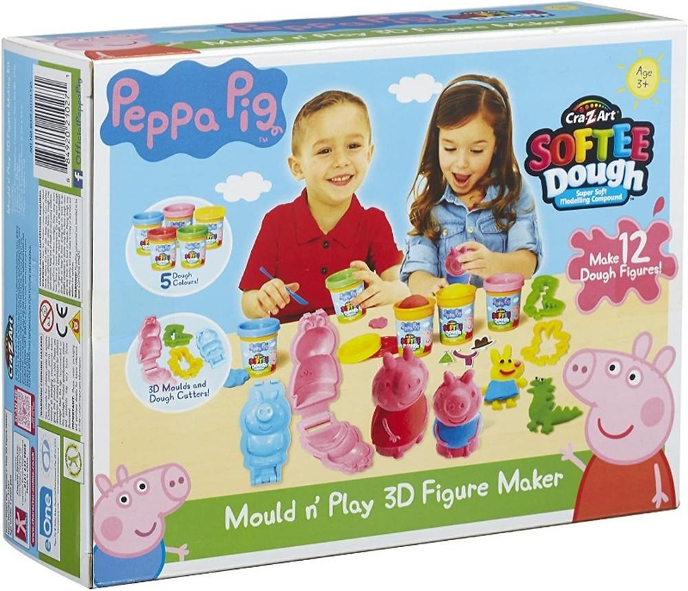 Creacion de personajes 3D Peppa Pig