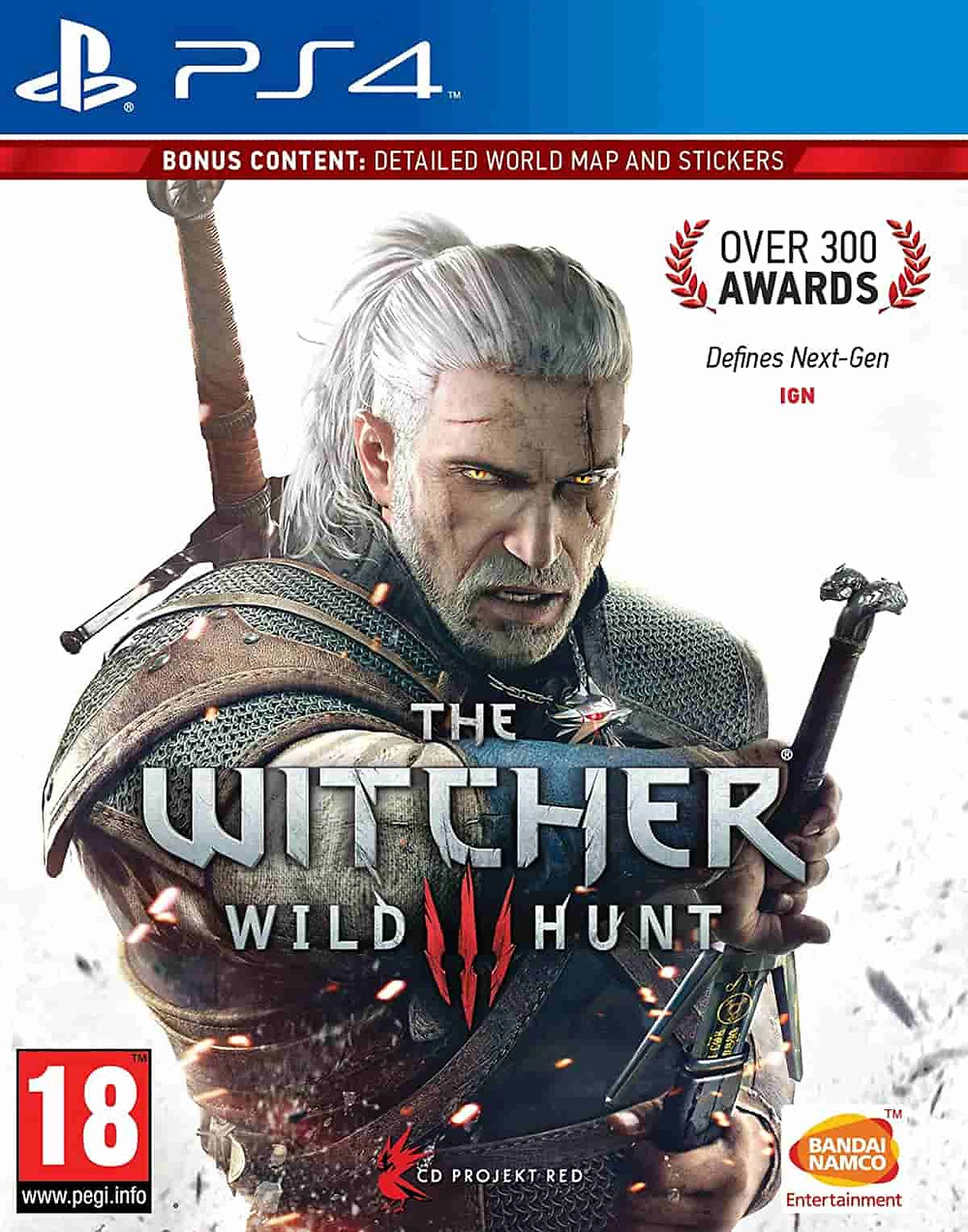 Juego imprescindible ps4: The Witcher 3: Wild Hunt